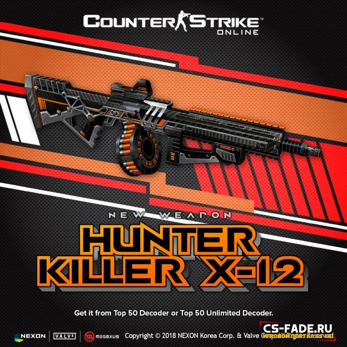 [CSO] [ZP] Extra Item - Hunter Killer X-12 для CS 1.6