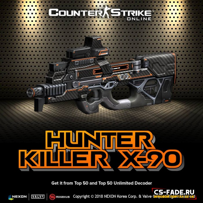 [CSO] [ZP] Extra Item - Hunter Killer X-90 для CS 1.6